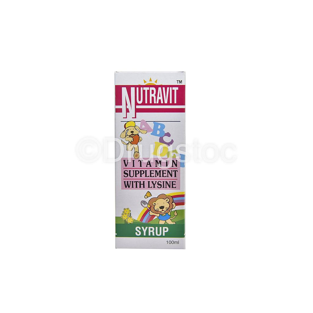 Nutravit Syrup 100ml