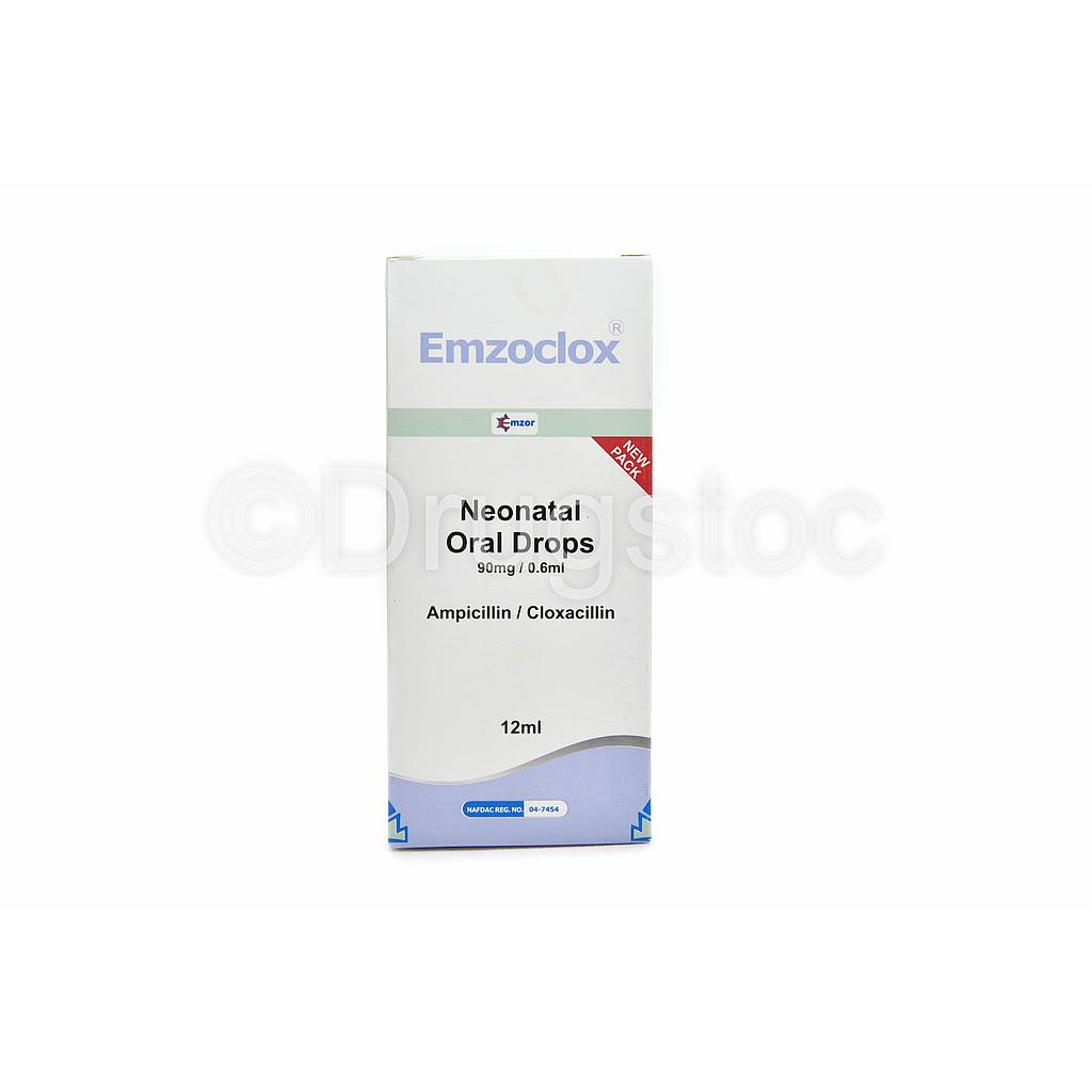 Emzoclox Neonatal Drop 12ml