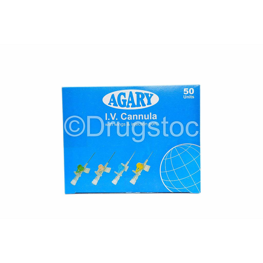 Agary Bio-Vein Cannula 18G x 50 (Green)