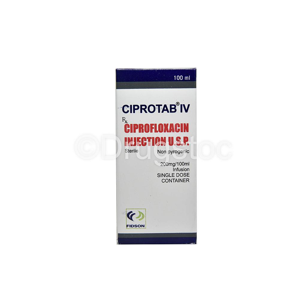 Ciprotab IV 200mg/100ml