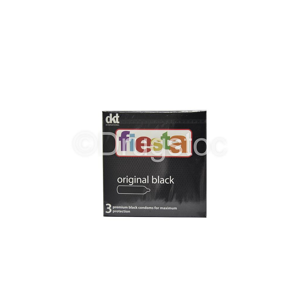 Fiesta Original Black x 3