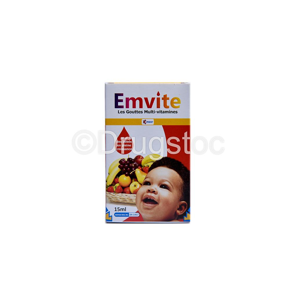 Emvite Drops 15ml