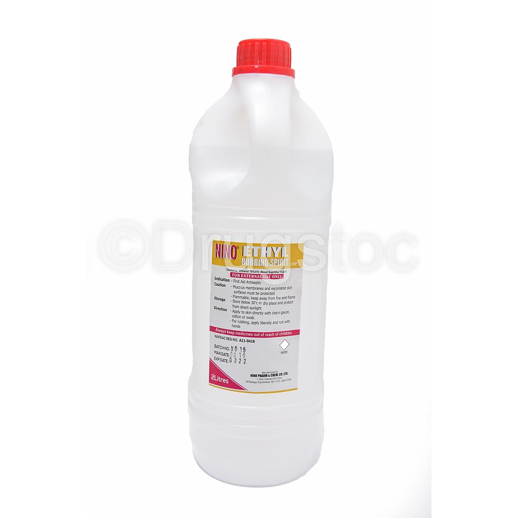 Nino Ethyl Rubbing Spirit X 2L